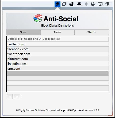 Anti-Social App