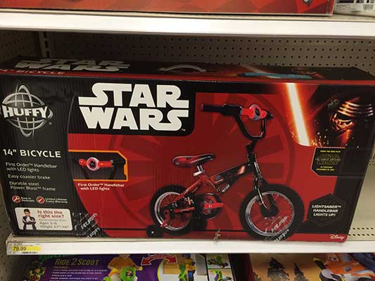 Star Wars Bike