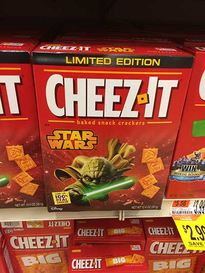 Star Wars Cheez Its