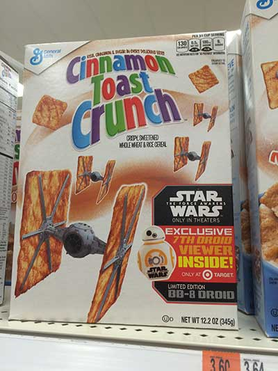 Star Wars Cinnamon Toast Crunch