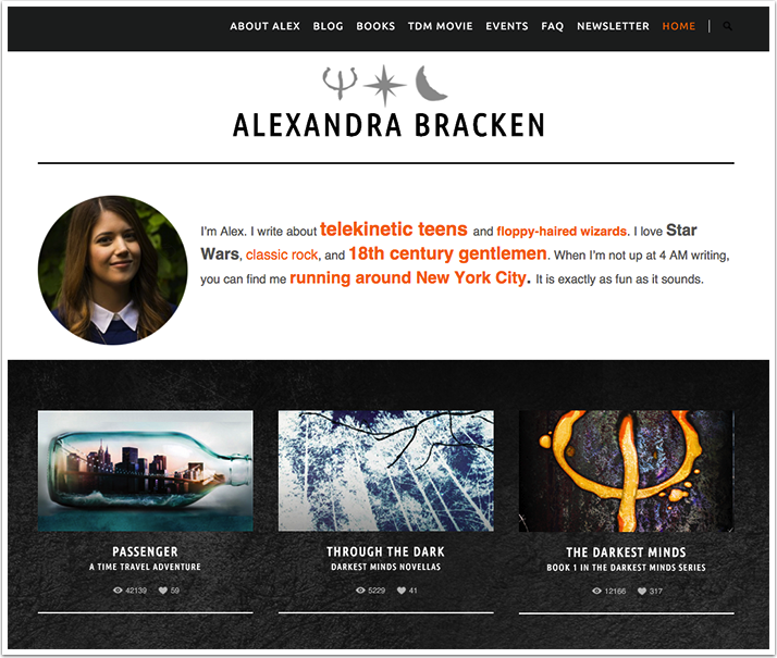 Alexandra Bracken's Website