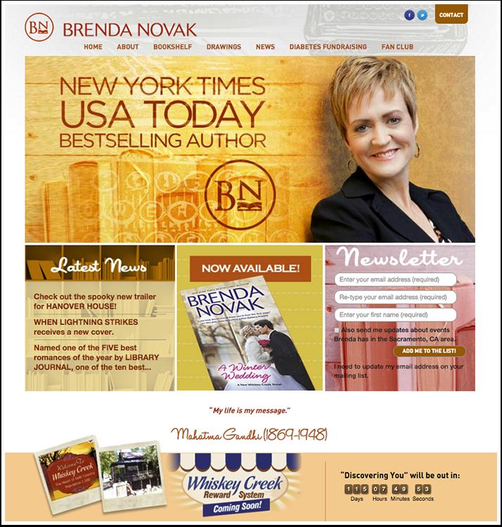 Brenda Novak's Website