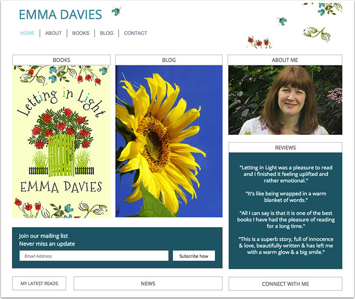 Emma Davies's Website
