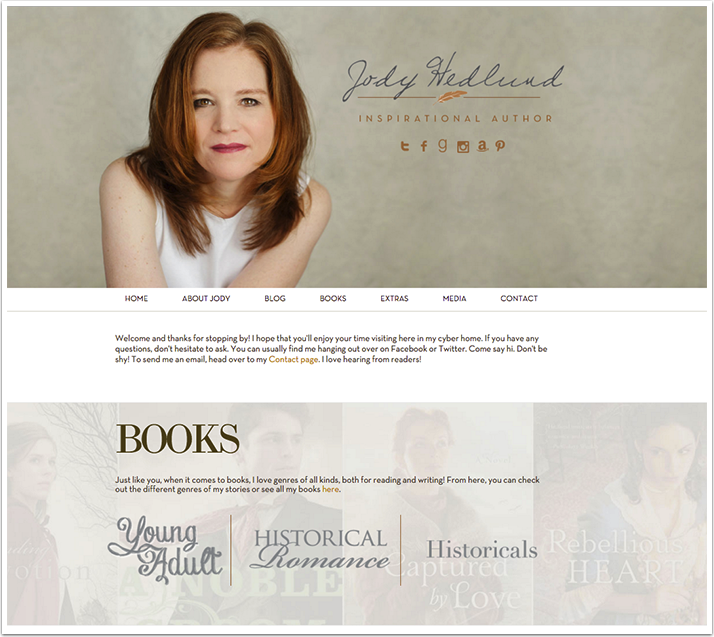 Jody Hedlund's Website