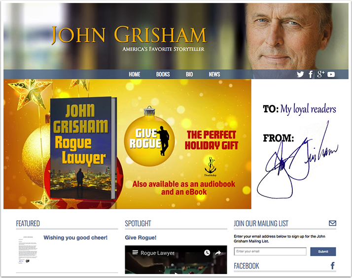 John Grisham's Website