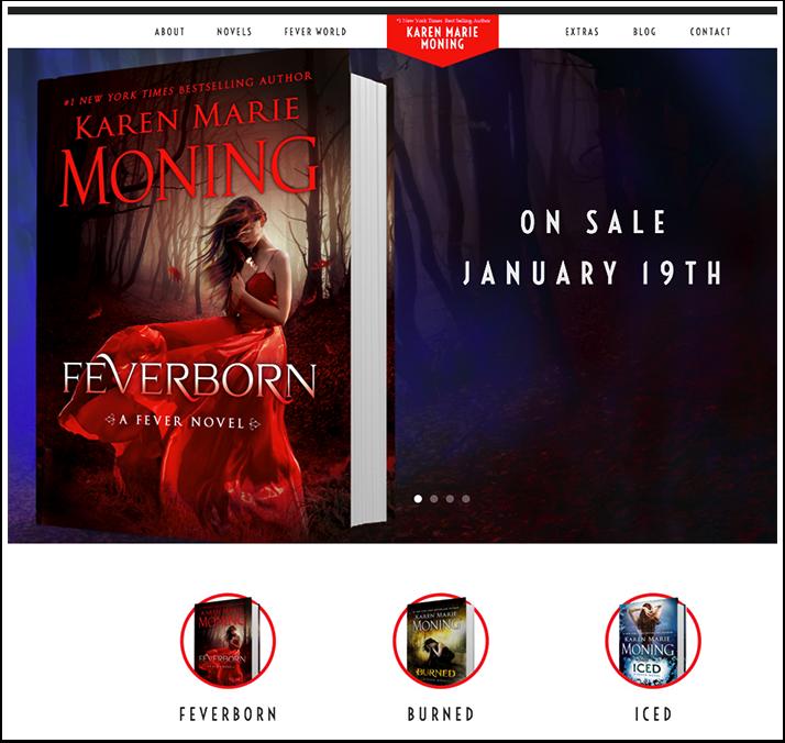 Karen Marie Moning's Website