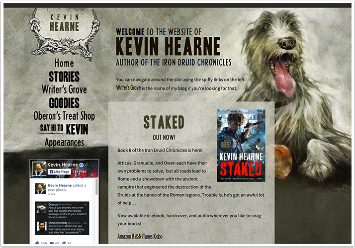 Kevin Hearne's Website