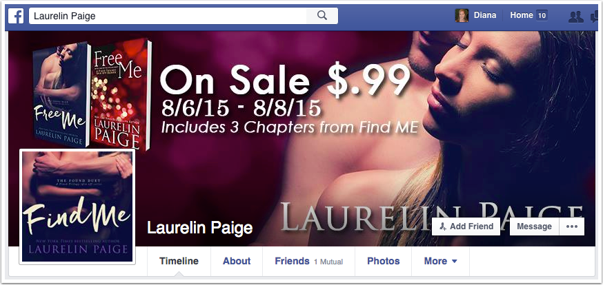 Laurelin Paige Facebook Page
