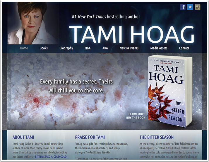 Tami Hoag's Website