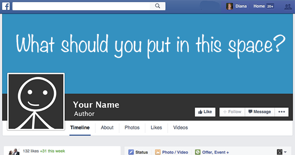 39 Stellar Examples of Author Facebook Cover Photo Designs