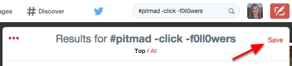 Filter #PitMad Spam Twitter