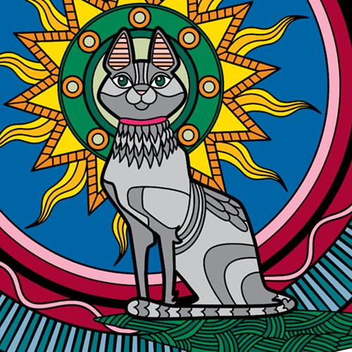 Colorfy Cat
