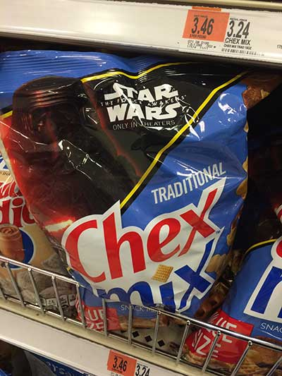 Star Wars Chex Mix