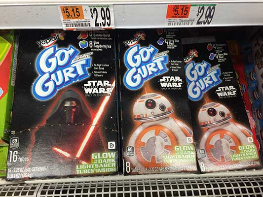 Star Wars Gogurt