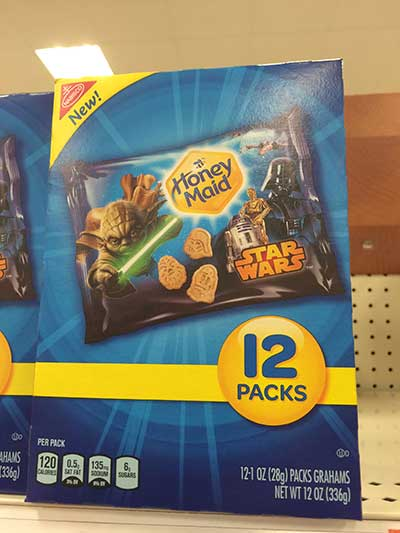 Star Wars Honey Maid