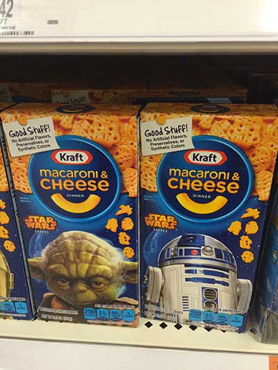 Star Wars Kraft Mac and Cheese