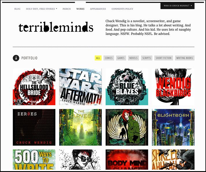 Chuck Wendig's Website