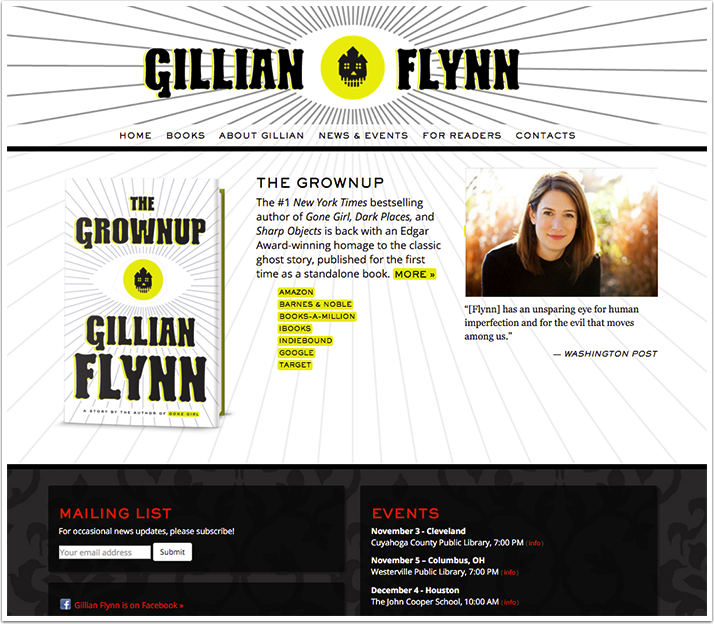 Gillian Flynn's Website