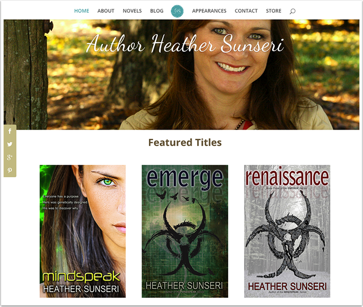Heather Sunseri's Website