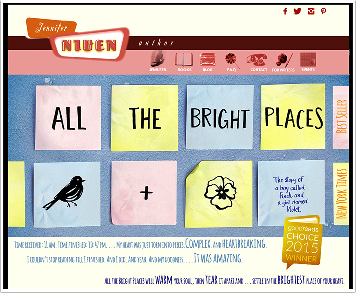 Jennifer Niven's Website