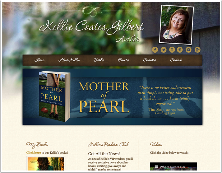 Kellie Coates Gilbert's Website