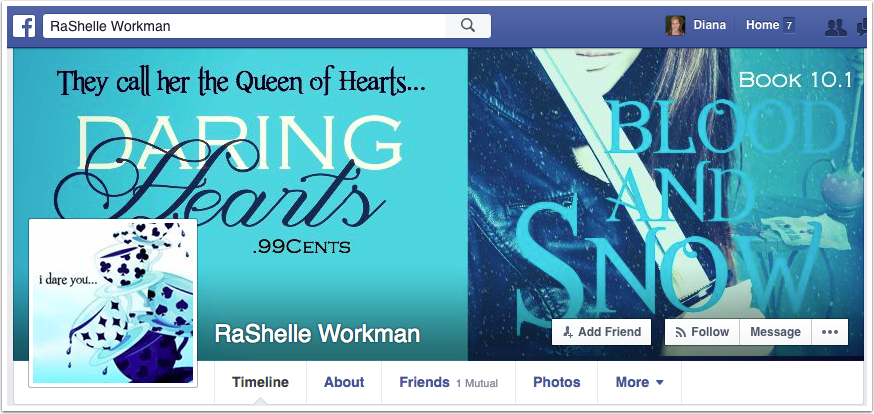 RaShelle Workman Facebook Page