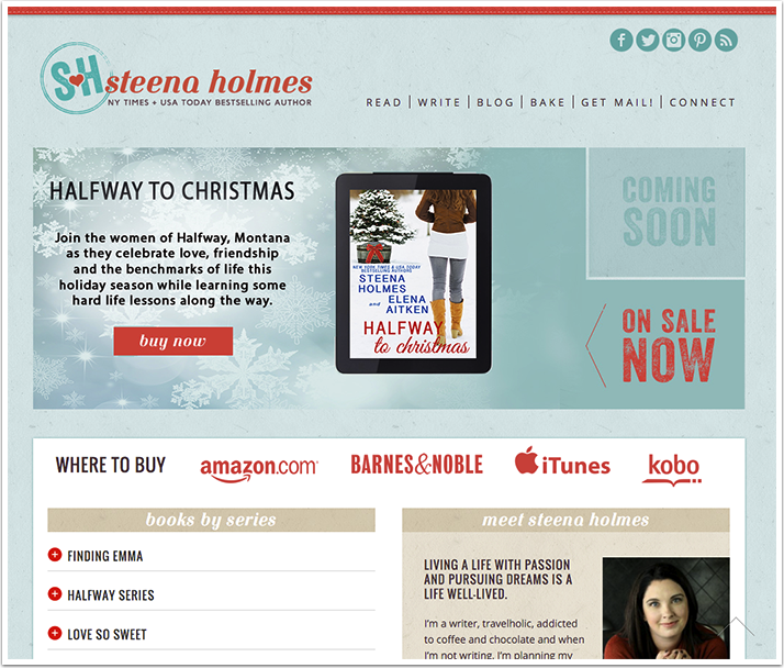 Steena Holmes's Website