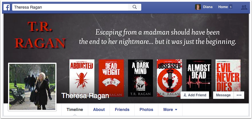Theresa Ragan Facebook Page
