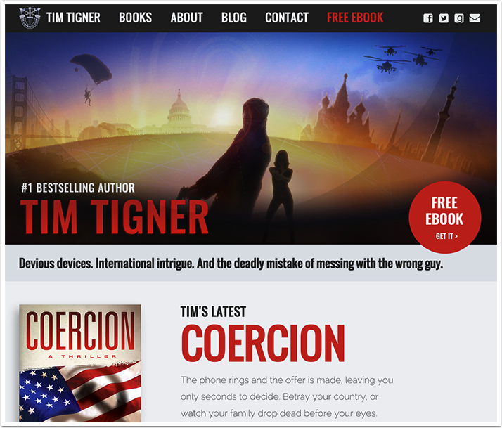 Tim Tigner's Website