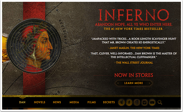 Dan Brown's Homepage