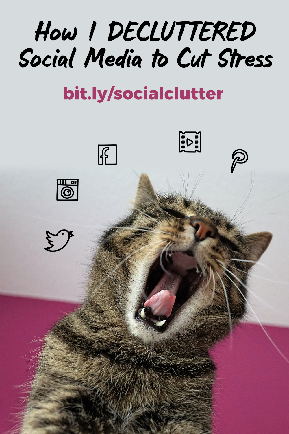 How I Decluttered Social Media to Cut Stress (and Spark Joy!)