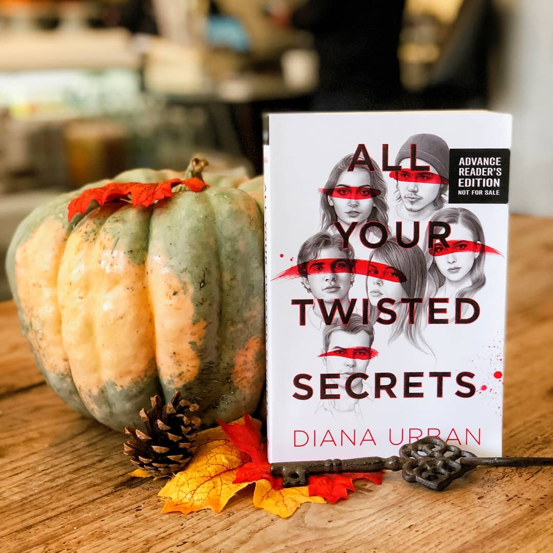 All Your Twisted Secrets with Fall Decorations