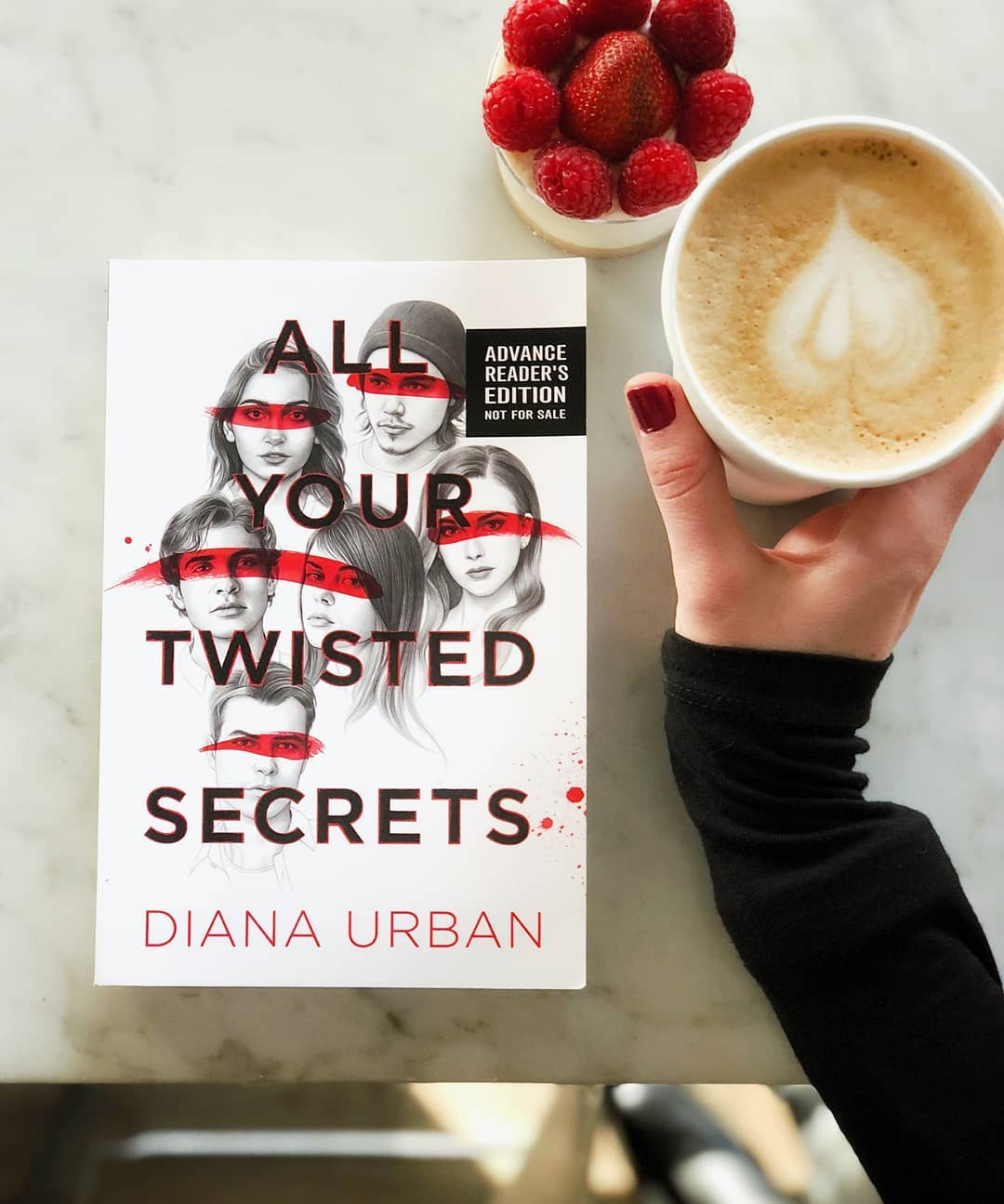 All Your Twisted Secrets with Coffee and Raspberries