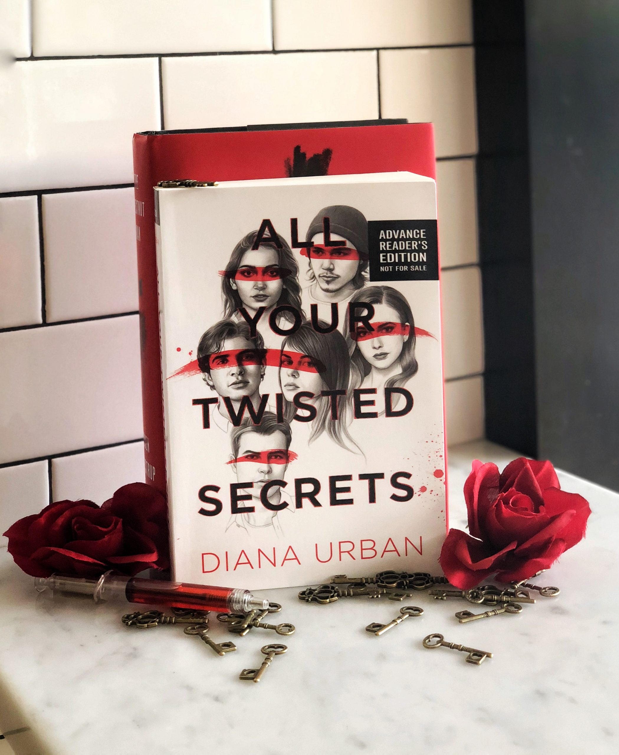 All Your Twisted Secrets - Moody with Flowers